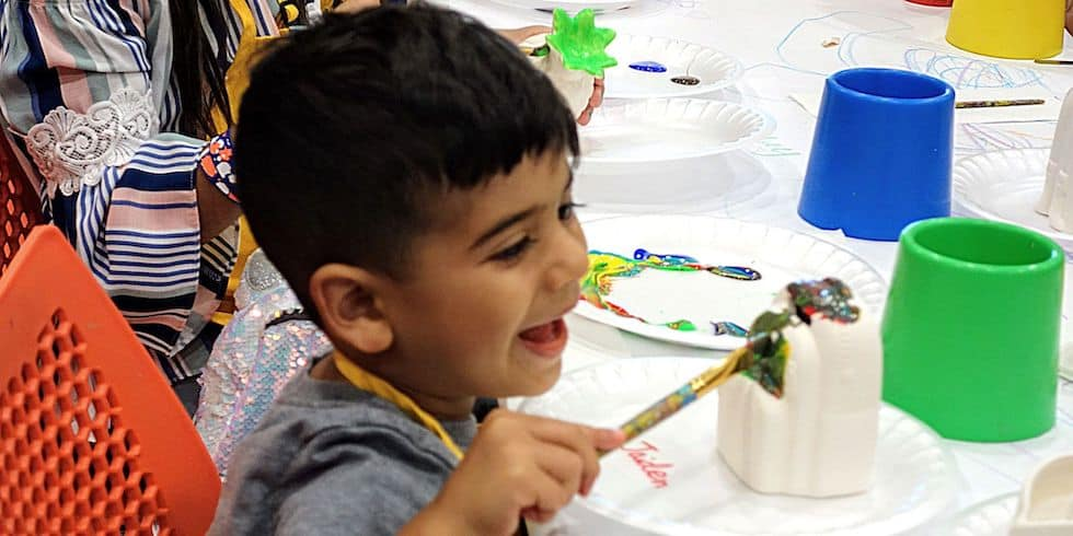 Creatif Franchising Kids Paint Party